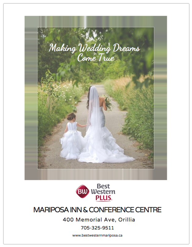 orillia wedding packages